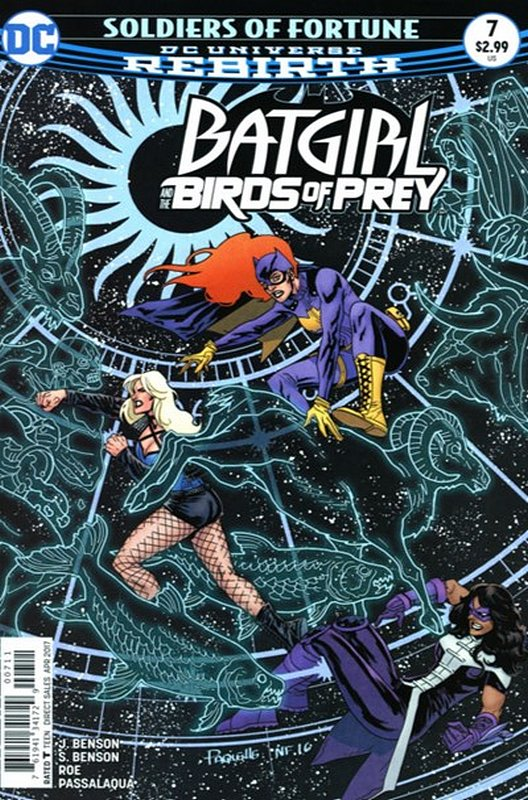 Cover of Batgirl & Birds of Prey (Vol 1) #7. One of 250,000 Vintage American Comics on sale from Krypton!