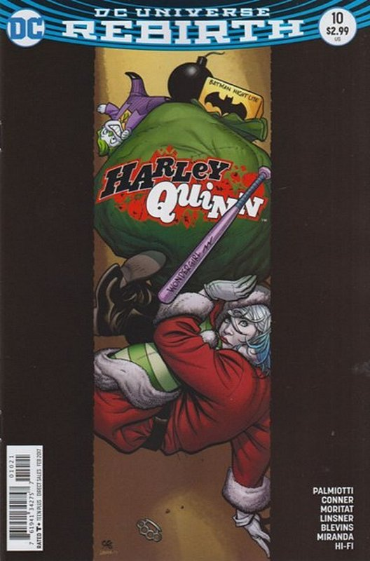 Cover of Harley Quinn (Vol 3) #10. One of 250,000 Vintage American Comics on sale from Krypton!