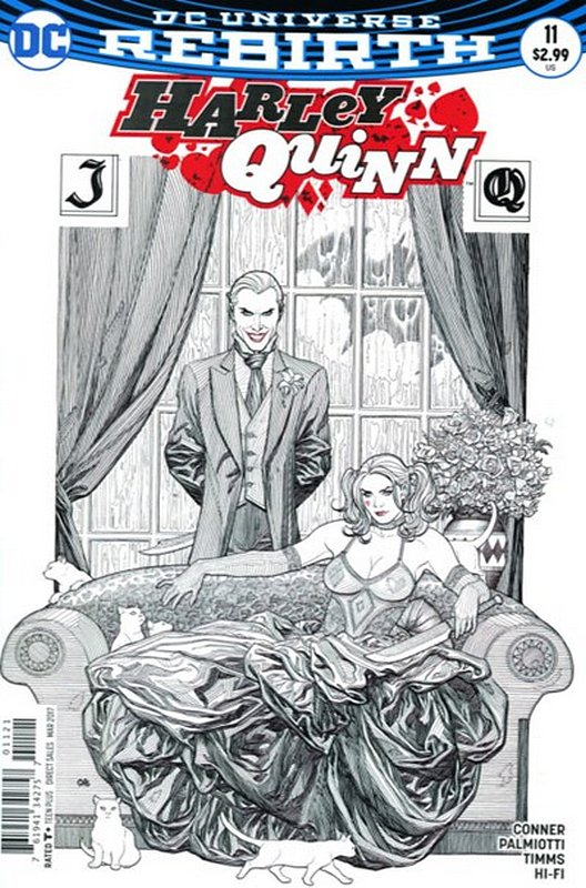 Cover of Harley Quinn (Vol 3) #11. One of 250,000 Vintage American Comics on sale from Krypton!