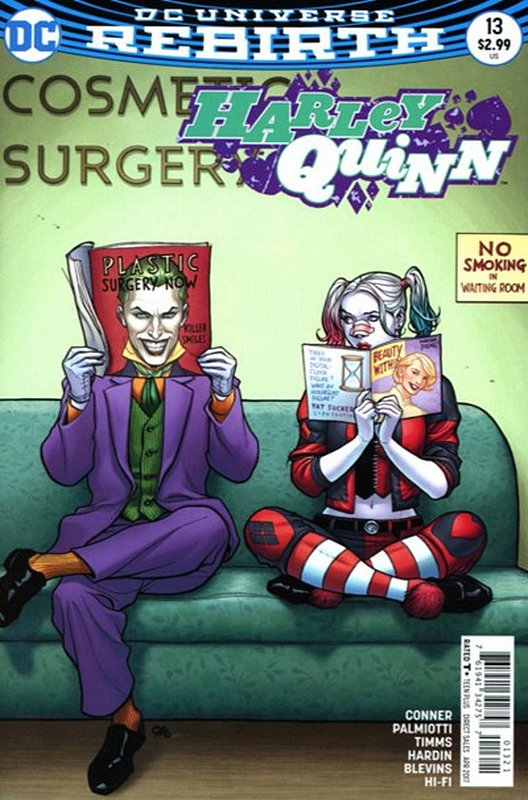 Cover of Harley Quinn (Vol 3) #13. One of 250,000 Vintage American Comics on sale from Krypton!