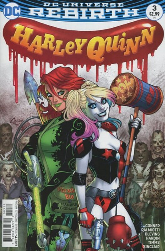 Cover of Harley Quinn (Vol 3) #3. One of 250,000 Vintage American Comics on sale from Krypton!
