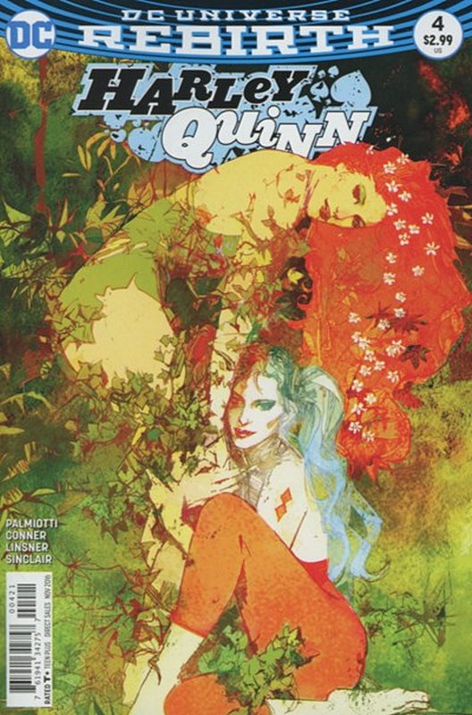 Cover of Harley Quinn (Vol 3) #4. One of 250,000 Vintage American Comics on sale from Krypton!