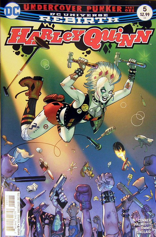 Cover of Harley Quinn (Vol 3) #5. One of 250,000 Vintage American Comics on sale from Krypton!