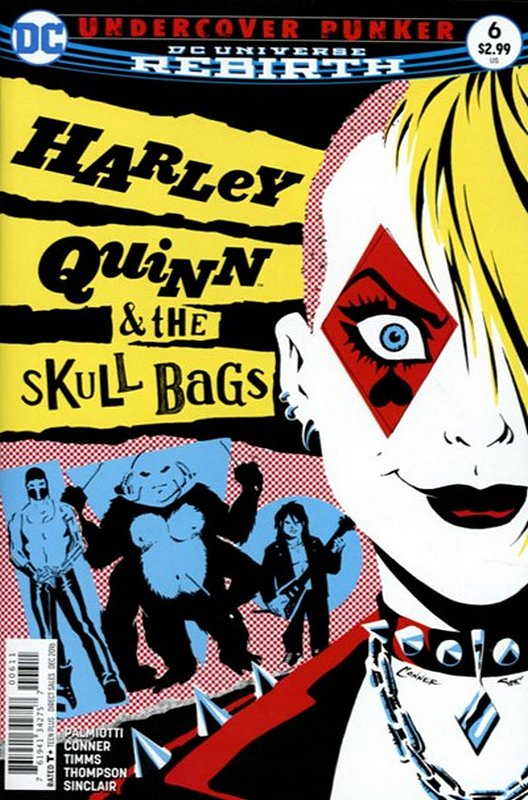 Cover of Harley Quinn (Vol 3) #6. One of 250,000 Vintage American Comics on sale from Krypton!