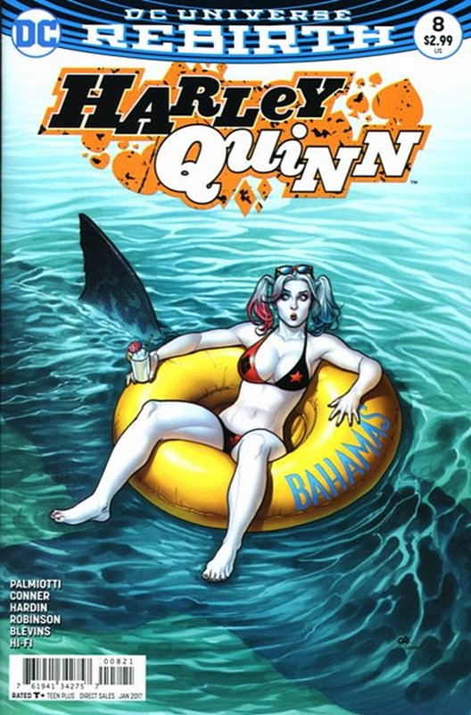 Cover of Harley Quinn (Vol 3) #8. One of 250,000 Vintage American Comics on sale from Krypton!
