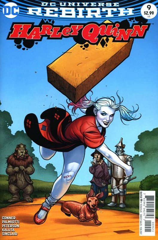 Cover of Harley Quinn (Vol 3) #9. One of 250,000 Vintage American Comics on sale from Krypton!
