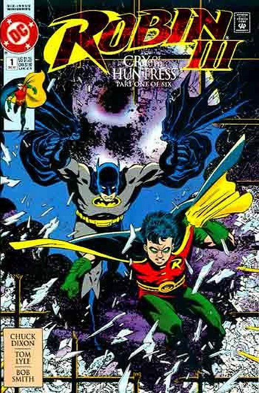 Cover of Robin III: Cry of the Huntress #1. One of 250,000 Vintage American Comics on sale from Krypton!
