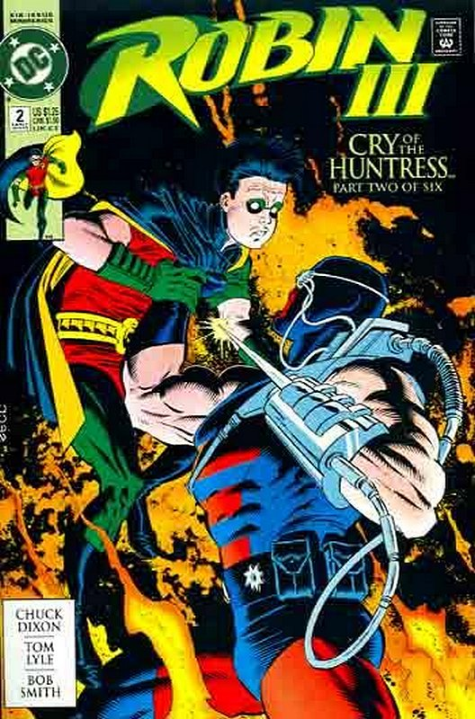 Cover of Robin III: Cry of the Huntress #2. One of 250,000 Vintage American Comics on sale from Krypton!