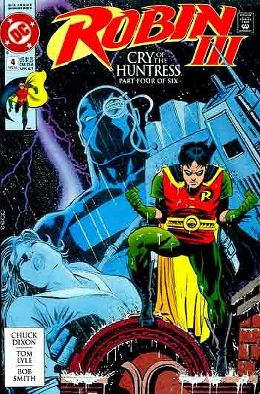 Cover of Robin III: Cry of the Huntress #4. One of 250,000 Vintage American Comics on sale from Krypton!