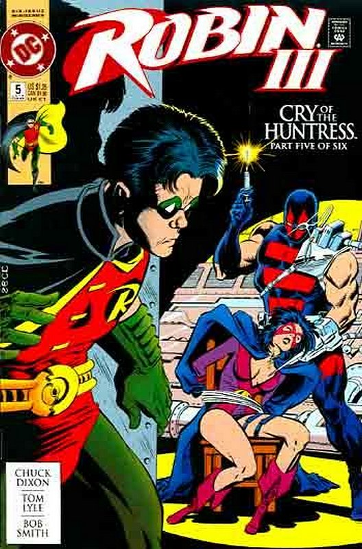 Cover of Robin III: Cry of the Huntress #5. One of 250,000 Vintage American Comics on sale from Krypton!
