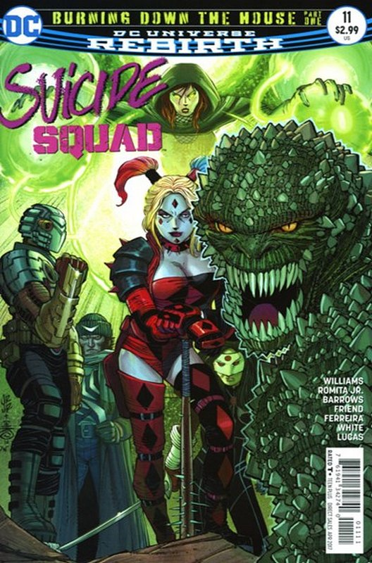 Cover of Suicide Squad (Vol 4) #11. One of 250,000 Vintage American Comics on sale from Krypton!