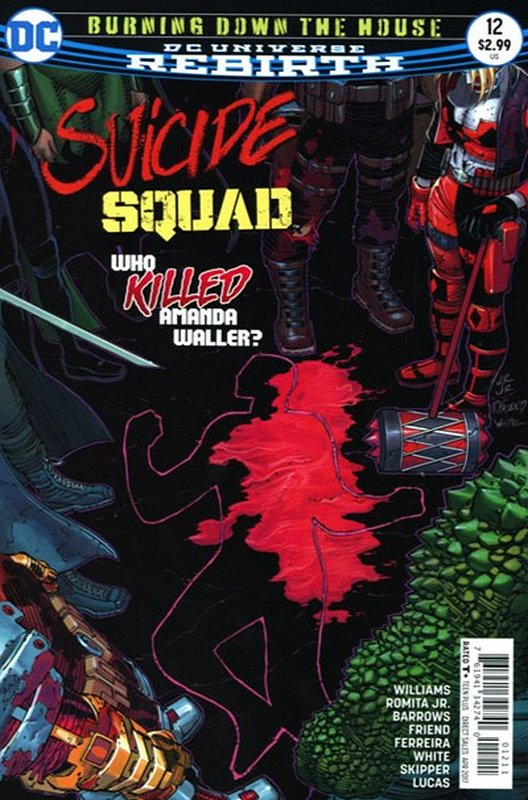 Cover of Suicide Squad (Vol 4) #12. One of 250,000 Vintage American Comics on sale from Krypton!