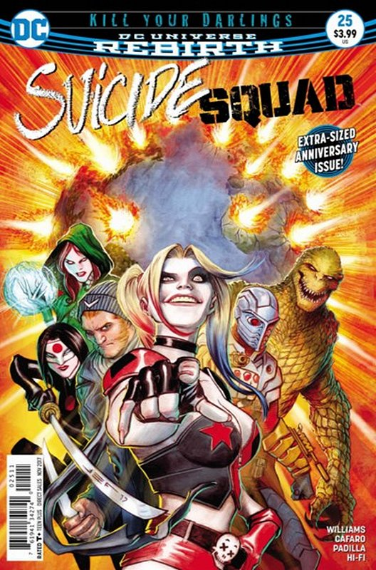 Cover of Suicide Squad (Vol 4) #25. One of 250,000 Vintage American Comics on sale from Krypton!