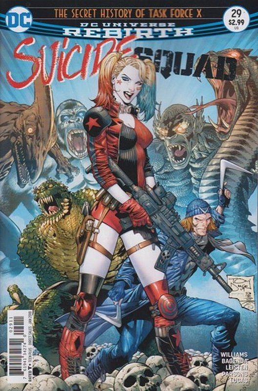 Cover of Suicide Squad (Vol 4) #29. One of 250,000 Vintage American Comics on sale from Krypton!
