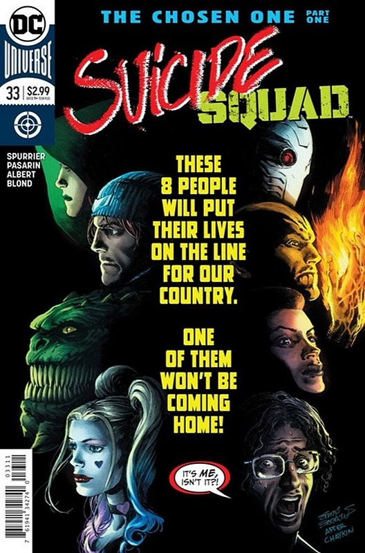 Cover of Suicide Squad (Vol 4) #33. One of 250,000 Vintage American Comics on sale from Krypton!
