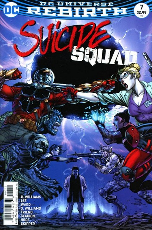 Cover of Suicide Squad (Vol 4) #7. One of 250,000 Vintage American Comics on sale from Krypton!