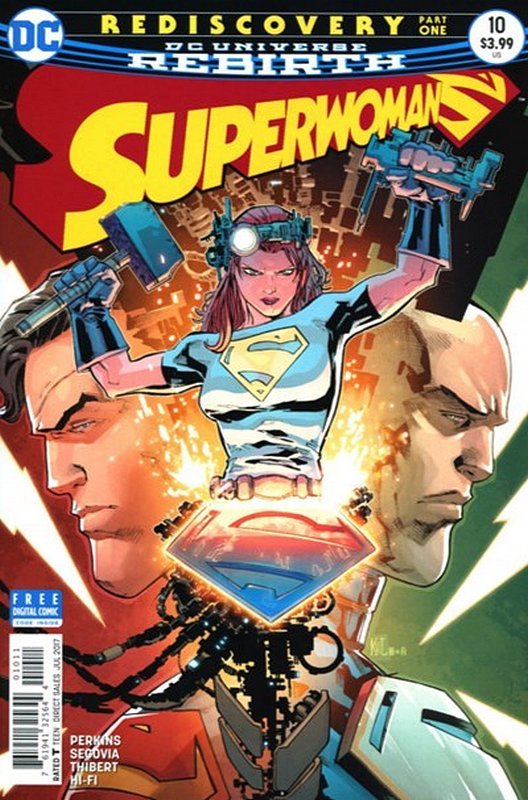 Cover of Superwoman ( Vol 1) #10. One of 250,000 Vintage American Comics on sale from Krypton!
