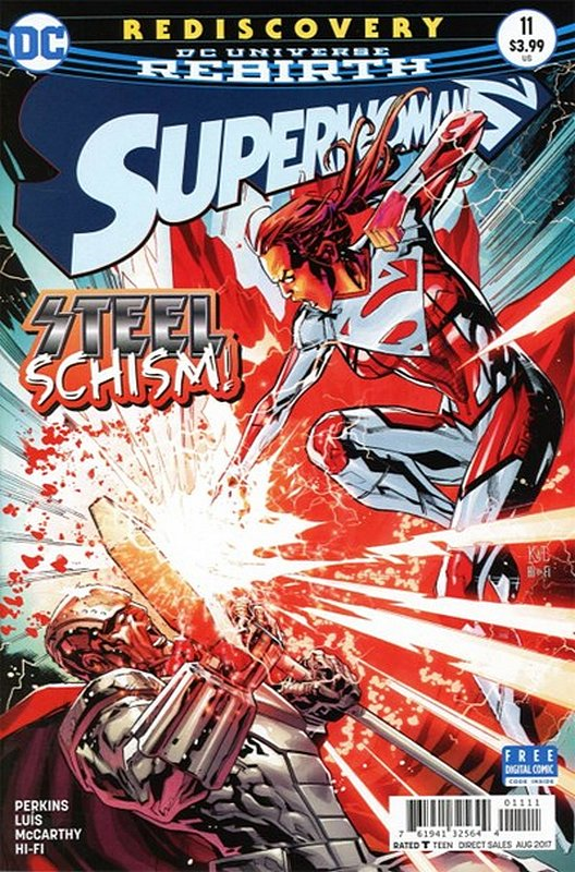Cover of Superwoman ( Vol 1) #11. One of 250,000 Vintage American Comics on sale from Krypton!