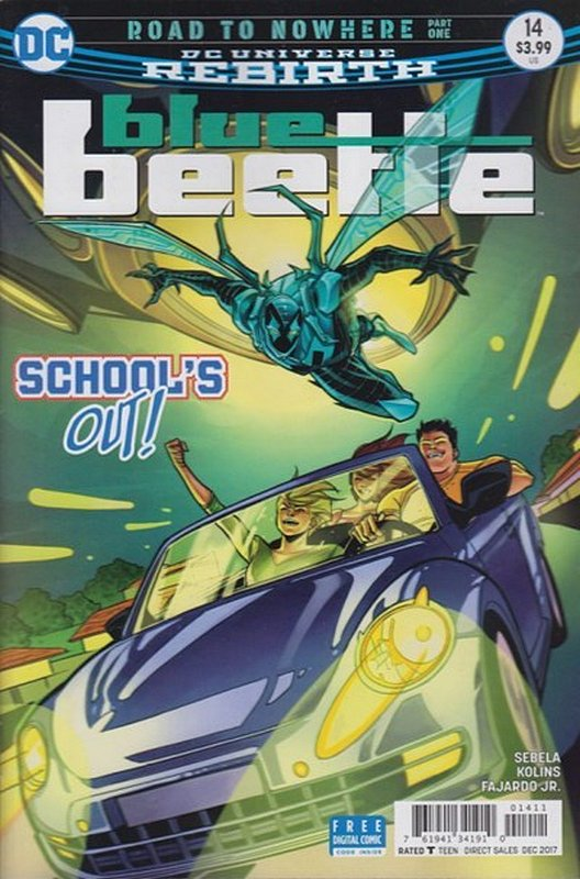 Cover of Blue Beetle (DC Vol 4) #14. One of 250,000 Vintage American Comics on sale from Krypton!