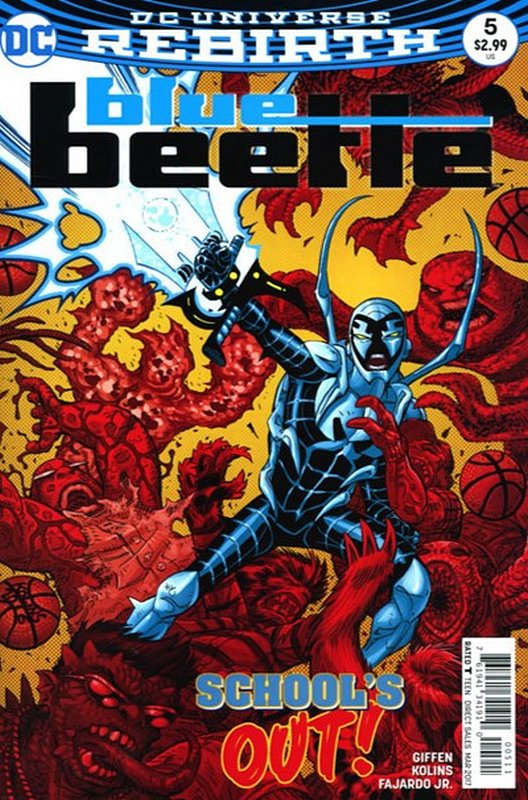 Cover of Blue Beetle (DC Vol 4) #5. One of 250,000 Vintage American Comics on sale from Krypton!
