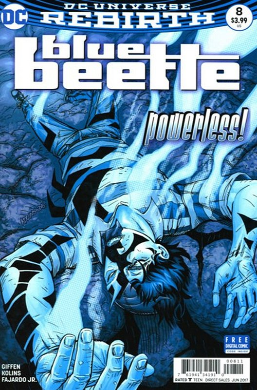 Cover of Blue Beetle (DC Vol 4) #8. One of 250,000 Vintage American Comics on sale from Krypton!