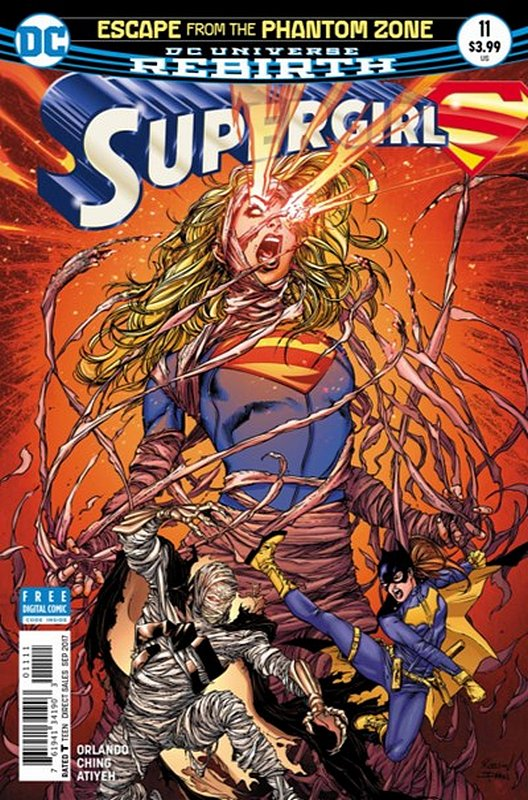 Cover of Supergirl (Vol 5) #11. One of 250,000 Vintage American Comics on sale from Krypton!