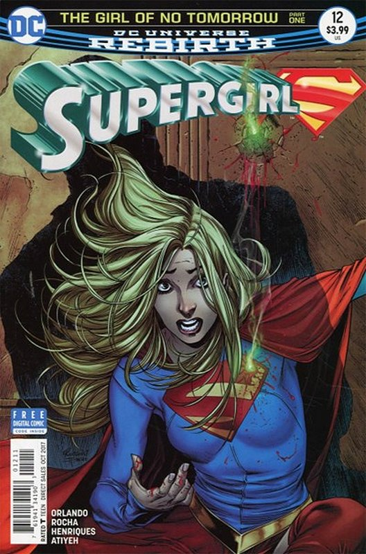 Cover of Supergirl (Vol 5) #12. One of 250,000 Vintage American Comics on sale from Krypton!