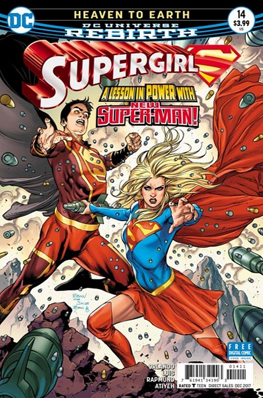 Cover of Supergirl (Vol 5) #14. One of 250,000 Vintage American Comics on sale from Krypton!