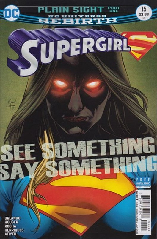 Cover of Supergirl (Vol 5) #15. One of 250,000 Vintage American Comics on sale from Krypton!