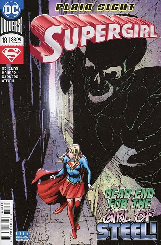Cover of Supergirl (Vol 5) #18. One of 250,000 Vintage American Comics on sale from Krypton!