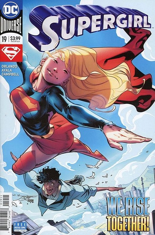 Cover of Supergirl (Vol 5) #19. One of 250,000 Vintage American Comics on sale from Krypton!