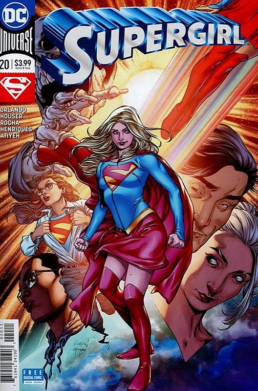 Cover of Supergirl (Vol 5) #20. One of 250,000 Vintage American Comics on sale from Krypton!