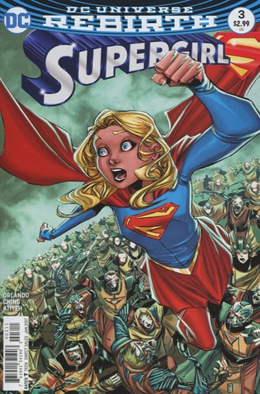 Cover of Supergirl (Vol 5) #3. One of 250,000 Vintage American Comics on sale from Krypton!
