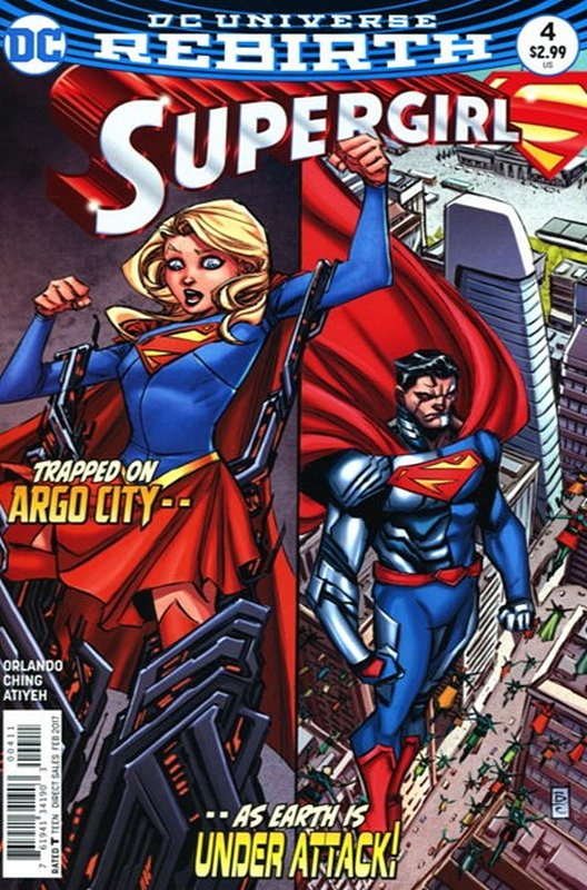 Cover of Supergirl (Vol 5) #4. One of 250,000 Vintage American Comics on sale from Krypton!