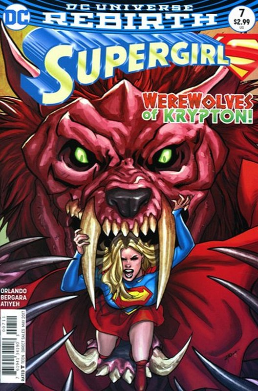 Cover of Supergirl (Vol 5) #7. One of 250,000 Vintage American Comics on sale from Krypton!