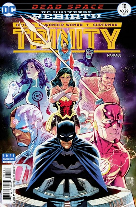 Cover of Trinity (Vol 1) #10. One of 250,000 Vintage American Comics on sale from Krypton!