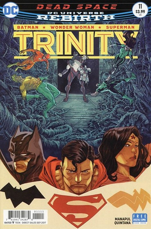 Cover of Trinity (Vol 1) #11. One of 250,000 Vintage American Comics on sale from Krypton!