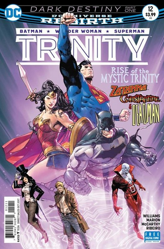 Cover of Trinity (Vol 1) #12. One of 250,000 Vintage American Comics on sale from Krypton!