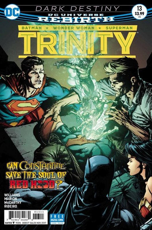 Cover of Trinity (Vol 1) #13. One of 250,000 Vintage American Comics on sale from Krypton!