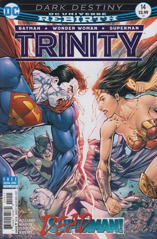 Cover of Trinity (Vol 1) #14. One of 250,000 Vintage American Comics on sale from Krypton!