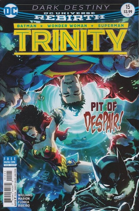 Cover of Trinity (Vol 1) #15. One of 250,000 Vintage American Comics on sale from Krypton!