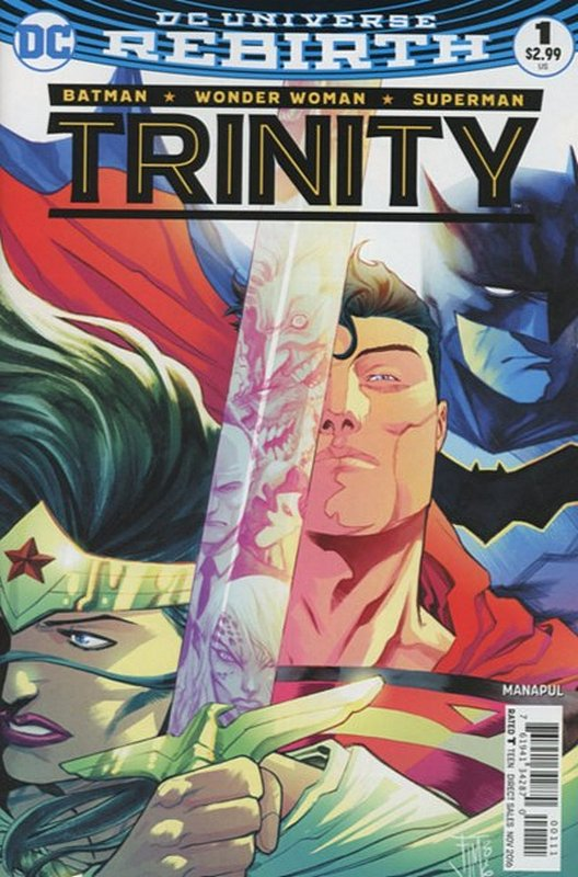 Cover of Trinity (Vol 1) #1. One of 250,000 Vintage American Comics on sale from Krypton!