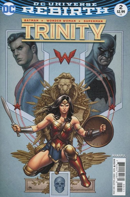 Cover of Trinity (Vol 1) #2. One of 250,000 Vintage American Comics on sale from Krypton!