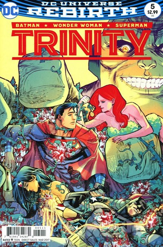 Cover of Trinity (Vol 1) #5. One of 250,000 Vintage American Comics on sale from Krypton!
