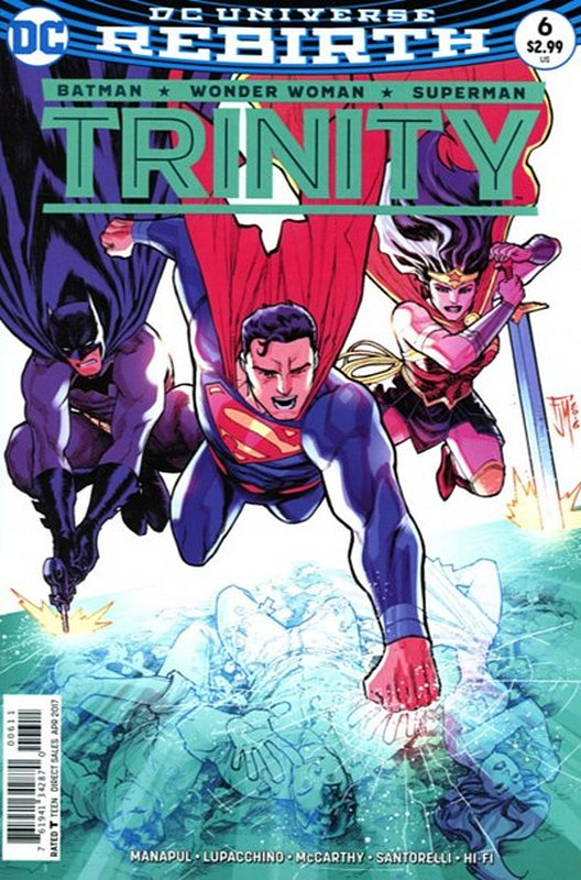 Cover of Trinity (Vol 1) #6. One of 250,000 Vintage American Comics on sale from Krypton!