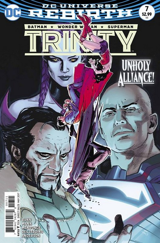 Cover of Trinity (Vol 1) #7. One of 250,000 Vintage American Comics on sale from Krypton!