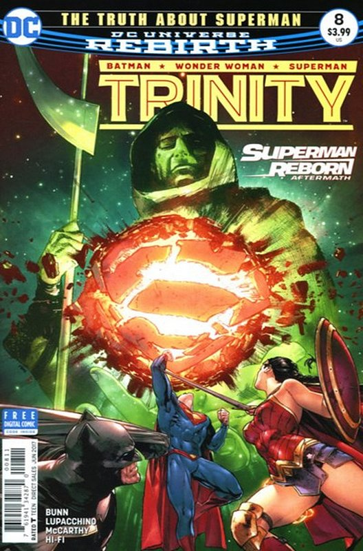 Cover of Trinity (Vol 1) #8. One of 250,000 Vintage American Comics on sale from Krypton!