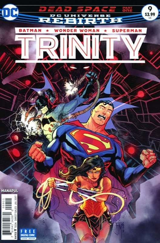 Cover of Trinity (Vol 1) #9. One of 250,000 Vintage American Comics on sale from Krypton!