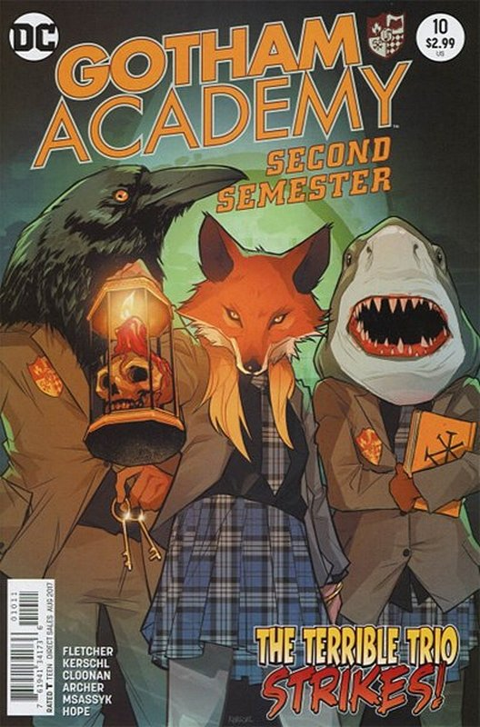 Cover of Gotham Academy: Second Semester #10. One of 250,000 Vintage American Comics on sale from Krypton!