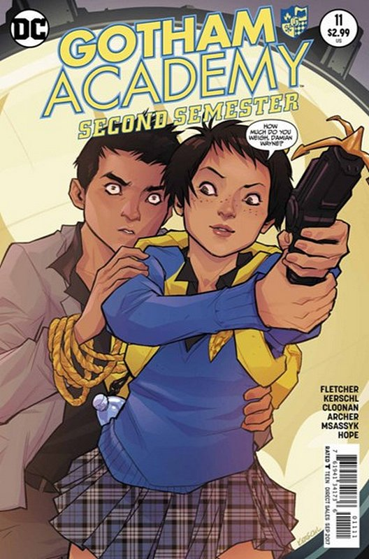 Cover of Gotham Academy: Second Semester #11. One of 250,000 Vintage American Comics on sale from Krypton!
